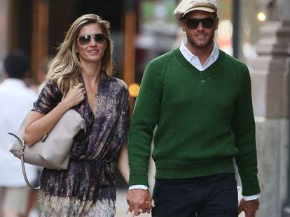 Gisele Bündchen y Tom Brady pasean en Nueva York.
