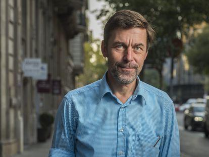 El escritor suizo Peter Stamm.