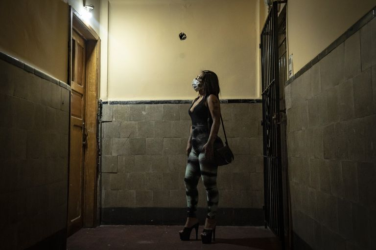 Gabriela, 39, returned to sex work after the jewelry business she had started went bankrupt with the closure of shops caused by the covid-19 pandemic.