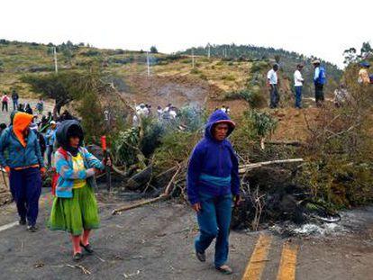La suspensión de la protesta por los transportistas no termina con las movilizaciones en Ecuador