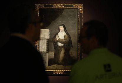 'Sor Margarita de la Cruz', siglo XVIII, de Matías de Torres, perteneciente a las Descalzas.