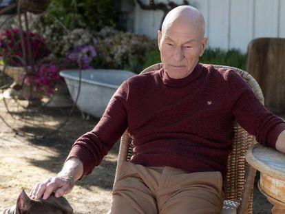 Patrick Stewart en un instante de 'Picard', de Amazon Prime Video.