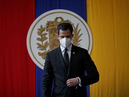 El líder opositor, Juan Guaidó, asiste a una sesión de la Asamblea Nacional en Caracas, el pasado 15 de diciembre.