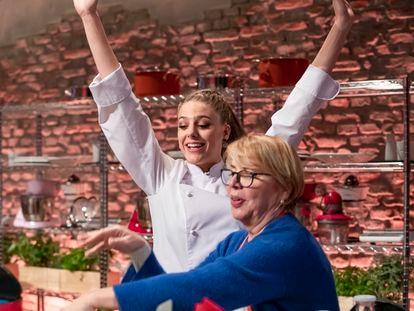 Marta Verona, ganadora de 'MasterChef 6', y Teresa, participante de la octava edición.