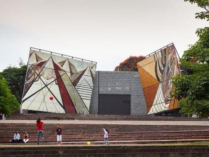 El museo y centro cultural 'La Tallera', en Cuernavaca, en una fotografía de Rafael Gamo.