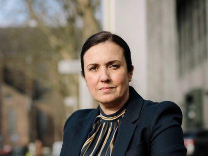 La abogada Eva González Pérez.