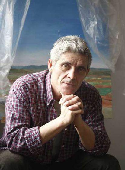 Paulino Cubero, en su casa.