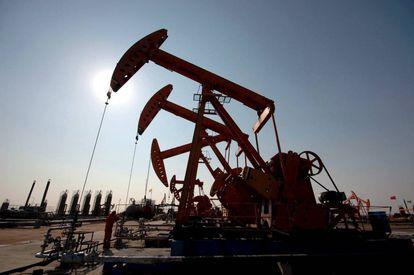 Planta petrolera en EE UU