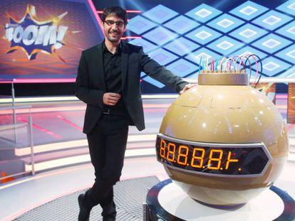 Juanra Bonet, presentador de '¡Boom!'.
