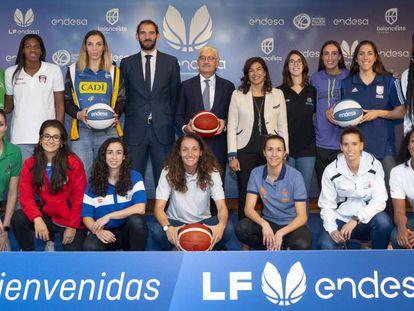 Presentación del patrocinio de Endesa a la Liga Femenina