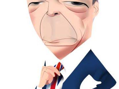 Nigel Farage, el pastor de la tribu del Brexit