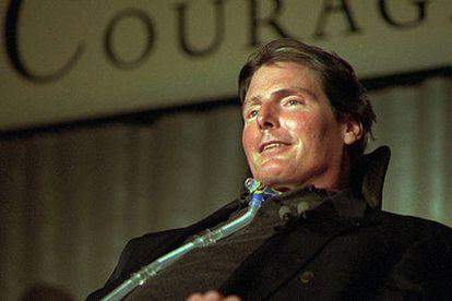 Christopher Reeve, fotografiado en 1996.