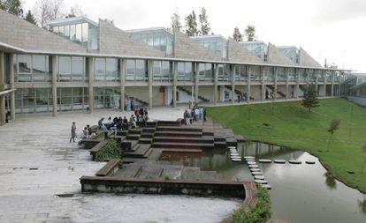 Facultad de Económicas de la Universidad de Vigo.