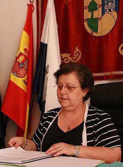 La alcaldesa Consuelo Pons.