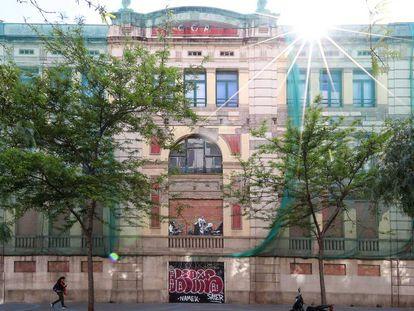 El edificio de la calle Roc Boronat que ocupará la Casa de las Letras.