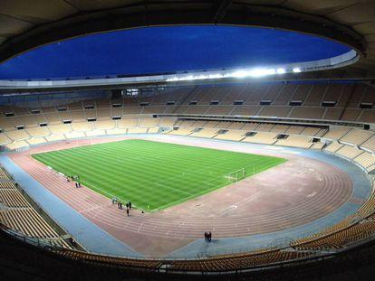 Imagen del estadio de La Cartuja de Sevilla.
