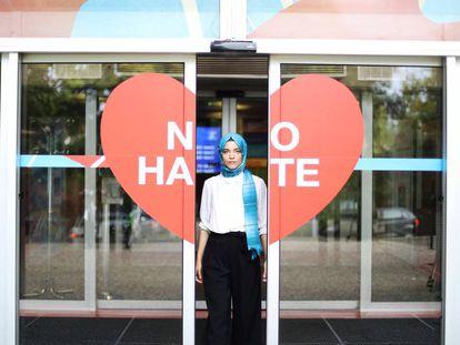 La ítalo marroquí Yasmine Ouirhane, Joven Europea del año 2019.