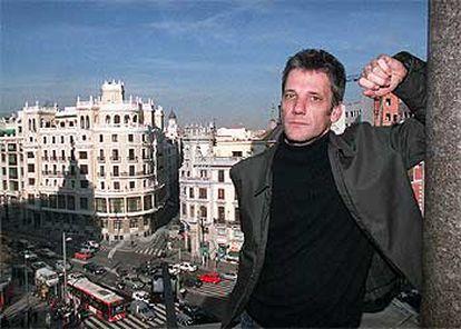 Alan Pauls, ayer, en el Círculo de Bellas Artes de Madrid.