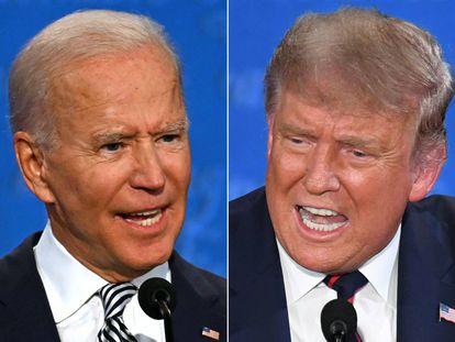 Los dos candidatos, antes de ser enviados al rincón de pensar.