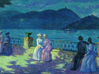 'La Concha, nocturno' (1906), obra de Darío de Regoyos.