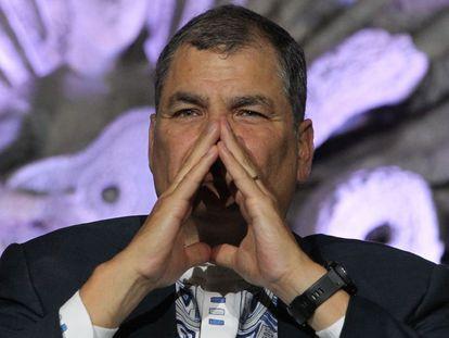 Rafael Correa, expresidente de Ecuador, en 2019.