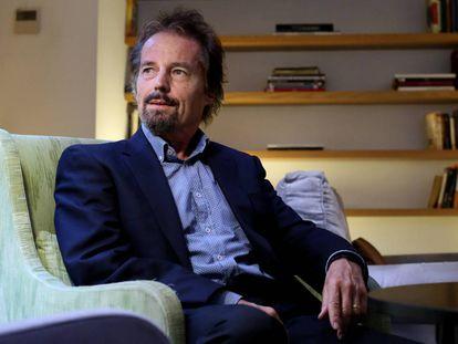 Jan Tesarik, experto en reproduccion humana el lunes pasado en Madrid.