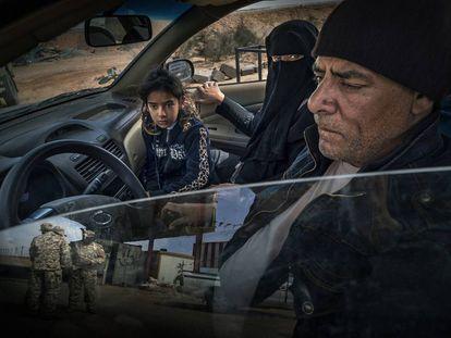 Refugiados (Libia, 2016).
