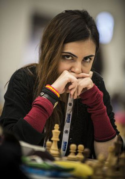 La ajedrecista Ana Matnadze.