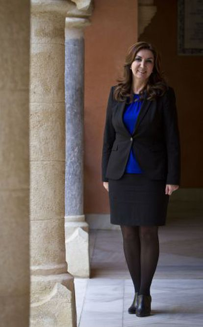 Eva Corrales, alcaldesa de Rota.