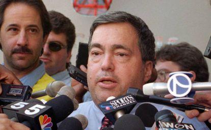 Jerry Krause, en 1995.