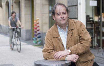 José Javier Abasolo, en San Sebastián.