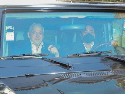 Alonso Ancira, a su salida de la cárcel en abril.