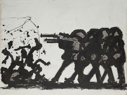 La obra 'Bum Bum', de Josep Bartolí.