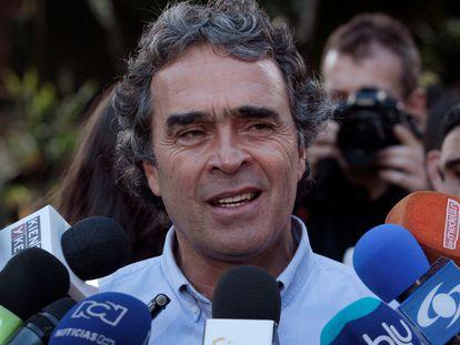 Sergio Fajardo, durante las elecciones del 27 de mayo de 2018.