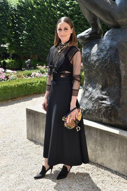 La bloguera y diseñadora Olivia Palermo.