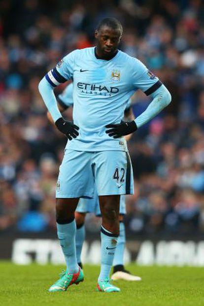 Yaya Touré, jugador musulmán del Manchester City.