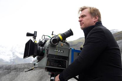 Christopher Nolan rodando 'Interstellar' en 2014.
