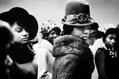 Pase de moda en Harlem, 1963