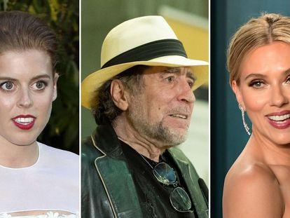 Beatriz de York, Joaquín Sabina y Scarlett Johansson, algunos de los famosos que se han casado en 2020.