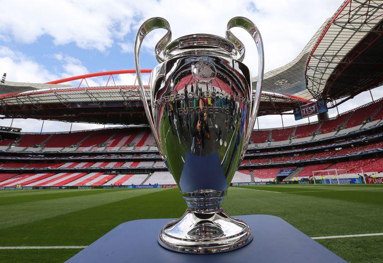 El estadio Da Luz, en Lisboa, acogerá la final de la Liga de Campeones como en 2014, a la que pertenece la imagen.