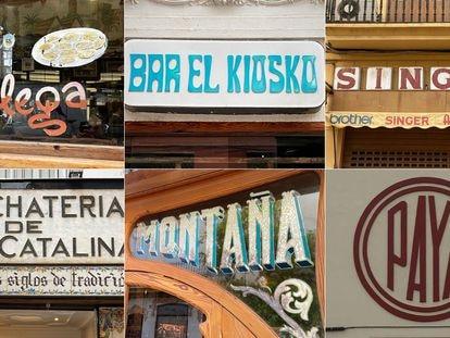 Rótulos comerciales de Valencia, integrados en la web TiposQueImportan.