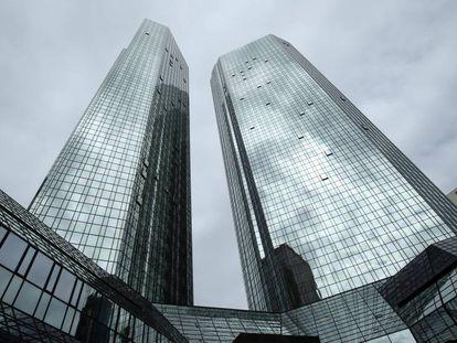Sede de Deutsche Bank en Frankfort.