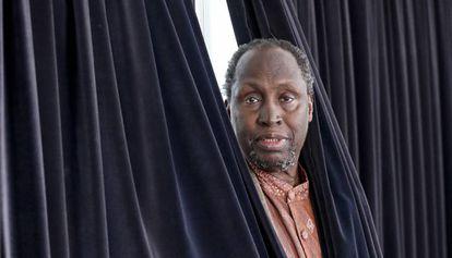 El escritor keniano Ngugi wa Thiong, en Barcelona.