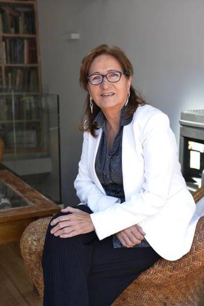 La médica Pilar Estébanez, presidenta de la Sociedad Española de Medicina Humanitaria (SEMHU).
