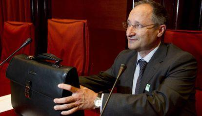 El jefe de los servicios jurídicos del Ayuntamiento, Joan Llinares.