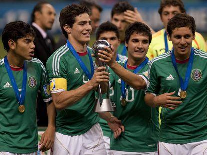 La generación de 2011 que conquistó el segundo Mundial para México.