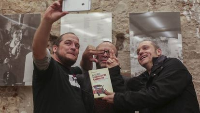 David Fernández, Carles Bellsolà y Quico Sallés
