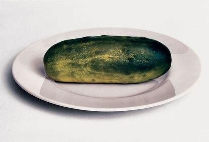 'Un pepinillo Gursky es solo un pepinillo muy grande', 2001, de Photo No-Nos: Meditaciones sobre lo que no fotografiar (Aperture, 2021).