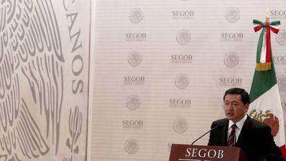 El Secretario de Gobernación de México, Miguel Ángel Osorio Chong.
