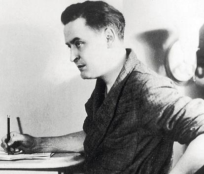 El novelista estadounidense Francis Scott Fitzgerald.